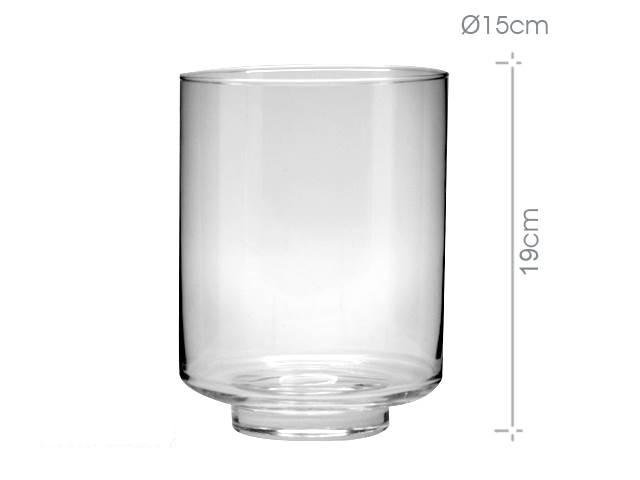 jarron cilindrico cristal x cm