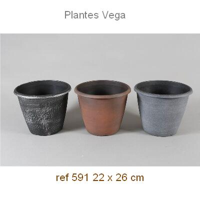 MACETA PVC DECORADA 26x22 1,95