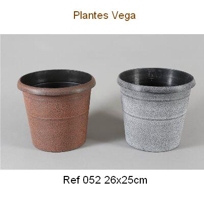 MACETA PVC DECORADA 26x25 2,25