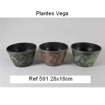 MACETA PVC DECORADA 28x18 1,95