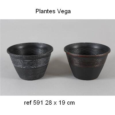 MACETA PVC DECORADA 28x19 1,95