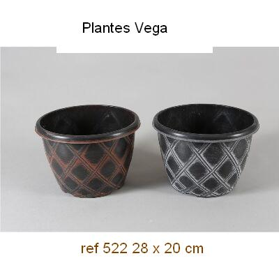 MACETA PVC DECORADA 28x20 2,25