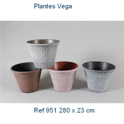 MACETA PVC DECORADA 28x23 1,95